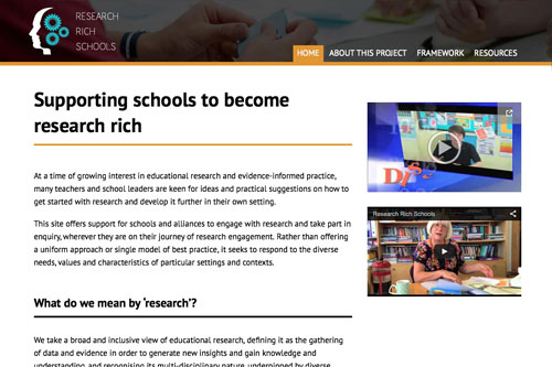 Research Rich Schools - Web Project - Case Study